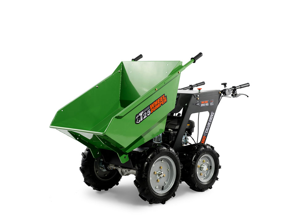 T25 Gasoline Engine Mini Wheel Dumper