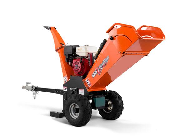 6.5hp Mini Gasoline Wood Chipper Machine