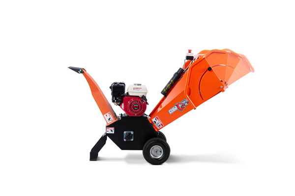 6.5hp Mini Gasoline Wood Chipper Machine
